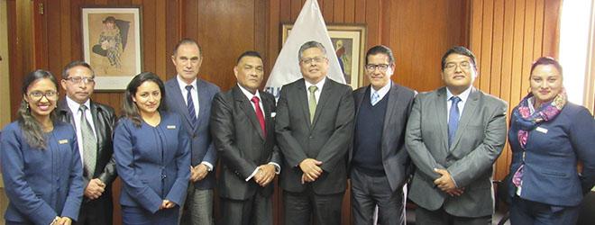 FUNIBER y la Fundación San Marcos firman convenio de colaboración