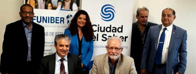 FUNIBER y la Fundación Ciudad del Saber firman acuerdo de colaboración