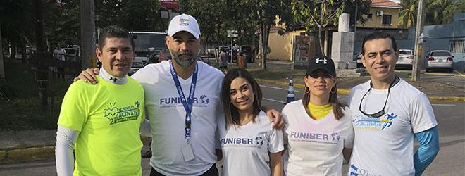 El Dr. Silió, presente en el evento deportivo «Honduras Actívate»