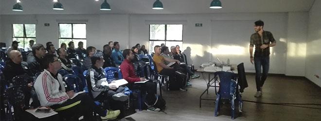 Excelente asistencia a la conferencia en Bogotá sobre entrenamiento coadyuvante