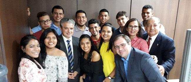FUNIBER celebra la despedida de alumnos becados para estudiar en UNEATLANTICO