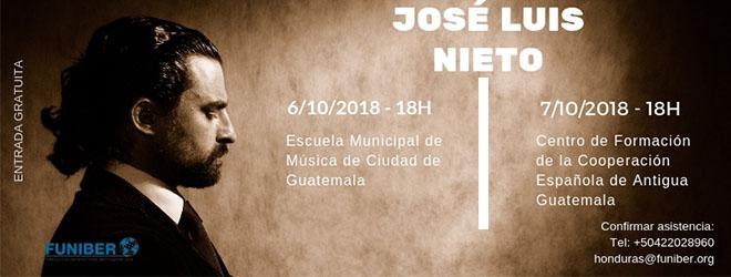 FUNIBER ofrece en Guatemala conciertos de Isaac Albéniz interpretados por el pianista José Luis Nieto