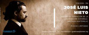 FUNIBER ofrece en Guatemala Concierto de Isaac Albéniz interpretado por el pianista José Luis Nieto