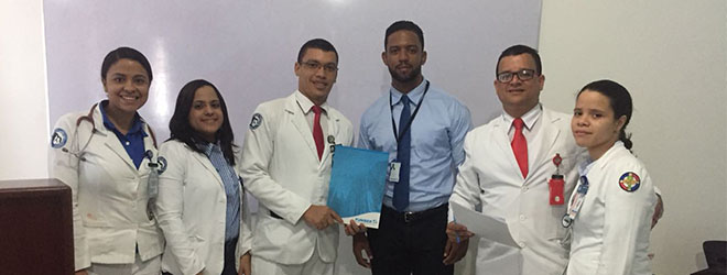 FUNIBER realiza sesión informativa en el Hospital Militar Docente Dr. Ramón De Lara