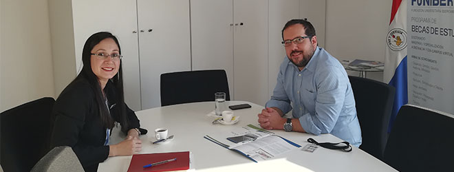 FUNIBER se reúne con la Asociación Paraguaya de Energías Renovables