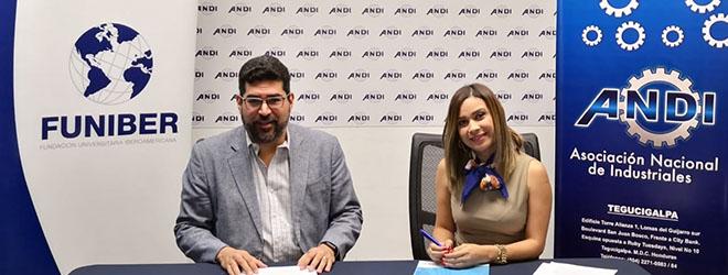 FUNIBER y ANDI firman convenio de colaboración