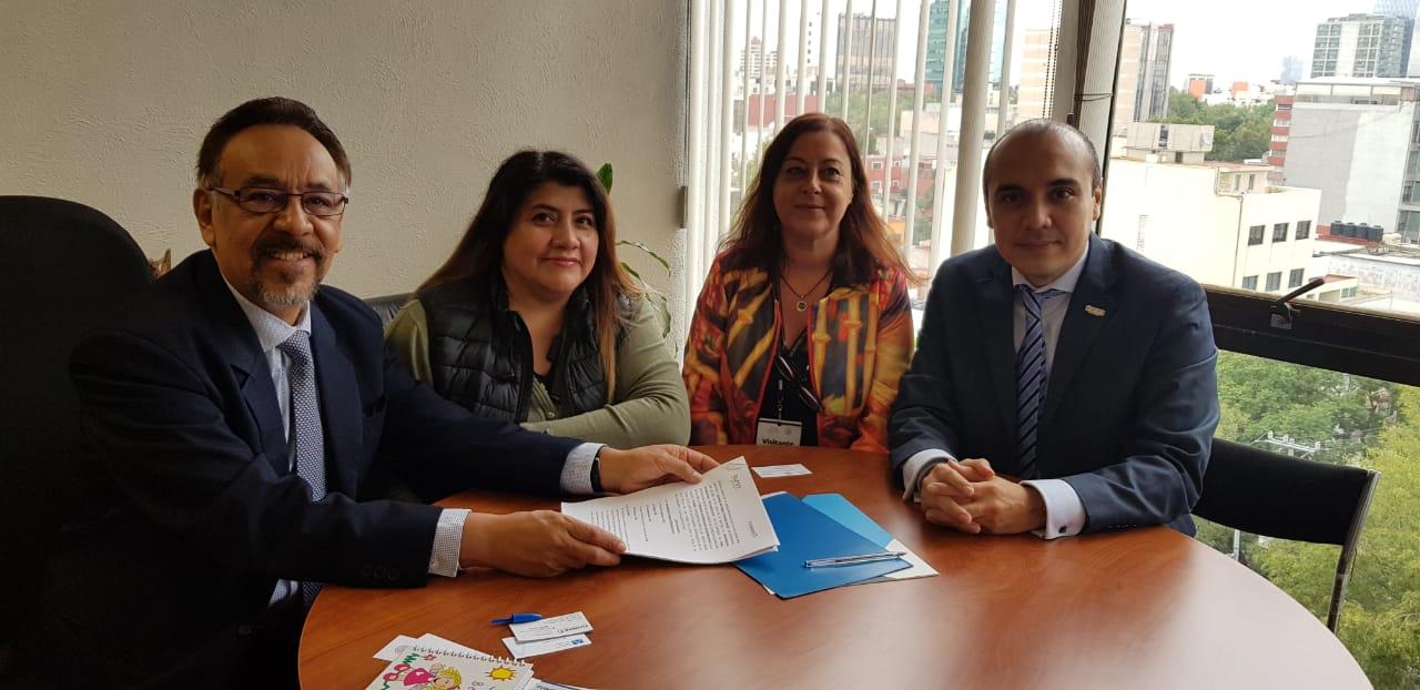 FUNIBER firma convenio de colaboración con STPS en México