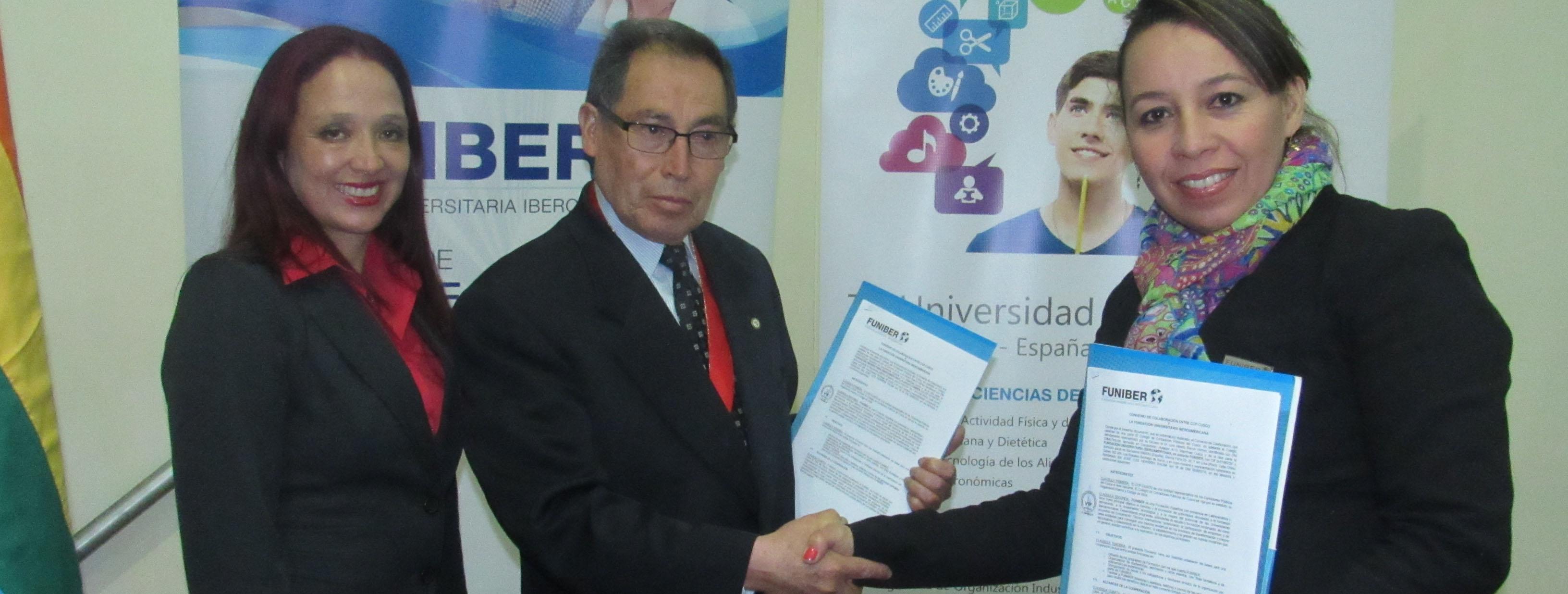 FUNIBER y el Colegio de Contadores Público del Cusco firman acuerdo de colaboración