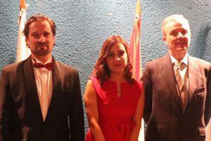 El pianista José Luis Nieto impresiona a los asistentes durante su concierto en Honduras
