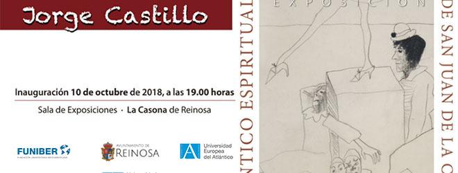 Exposición de Jorge Castillo en Reinosa (España) con el patrocinio de FUNIBER