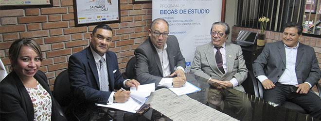FUNIBER firma convenio de colaboración con CONTASE en Perú