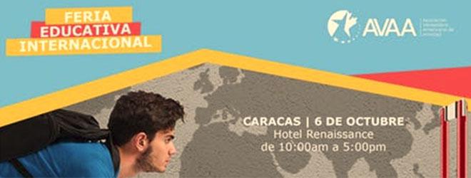 FUNIBER participa en la Feria Educativa Internacional AVAA 2018 de Caracas (Venezuela)