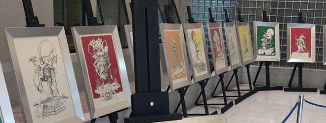 FUNIBER patrocina exposición de Dalí en Copiapó