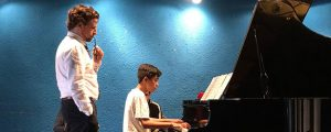 Masterclass en Honduras del pianista José Luis patrocinada por FUNIBER