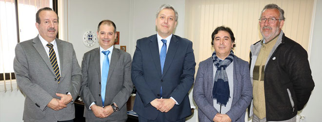 FUNIBER y la Universidad Europea del Atlántico firman un acuerdo con la Universidad de La Frontera (UFRO)