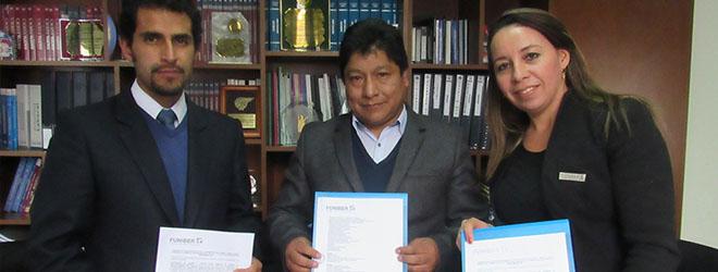 FUNIBER firma convenio de colaboración con la Cooperativa de Ahorro y Crédito Santo Domingo Guzmán de Cusco