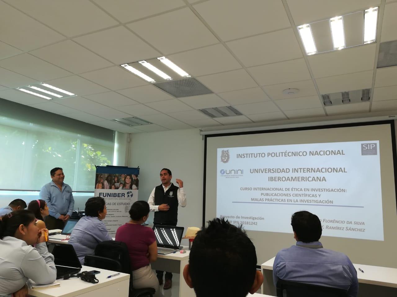 Curso Internacional de ética en la investigación científica en UNINI MX