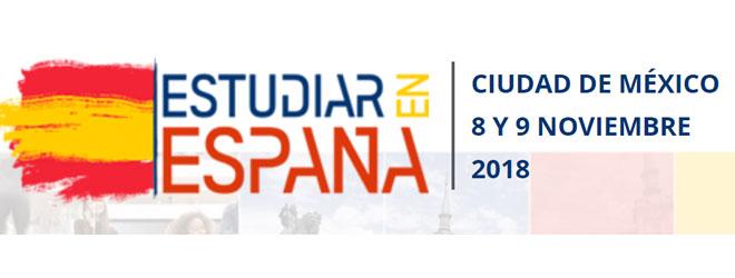 Programa de becas de FUNIBER en la feria «Estudiar en España» de México