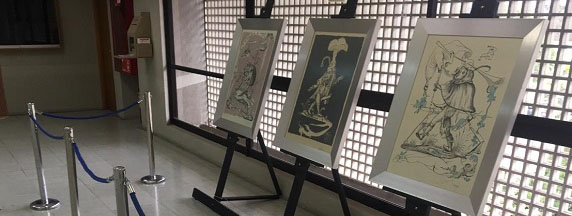 FUNIBER patrocina exposición de Salvador Dalí en la Corte de Apelaciones de Valdivia