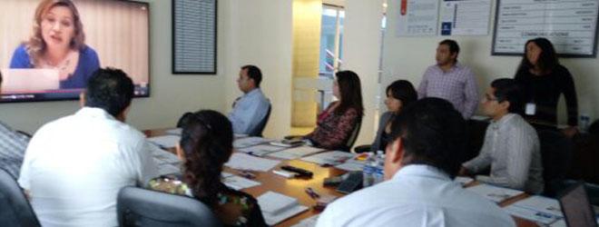 Sesiones informativas en Cotemar sobre programas de formación y becas de FUNIBER