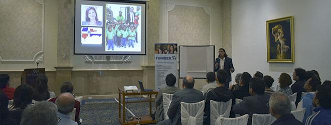Magistral conferencia del Dr. Santiago Tejedor en Quito