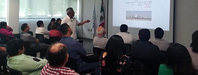 Magnífica conferencia de Pedro Tello Villagrán