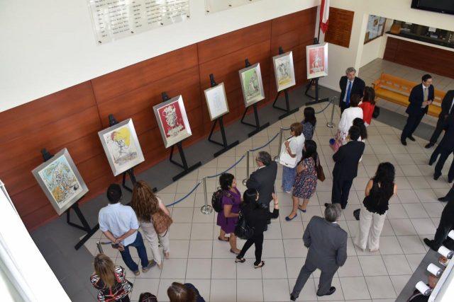 """FUNIBER inaugura la exposición """"Los sueños caprichosos de Pantagruel"""" de Dalí en la Corte de Apelaciones de Antofagasta"""