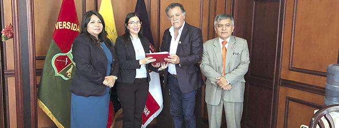 FUNIBER y la Universidad Estatal de Bolívar firman acuerdo de colaboración
