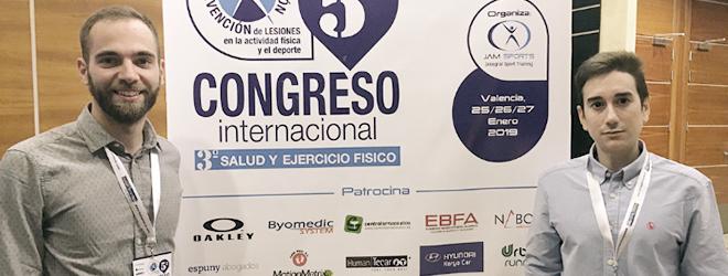 Carlos Lago y Álvaro Velarde participan en Congreso internacional sobre prevención de lesiones
