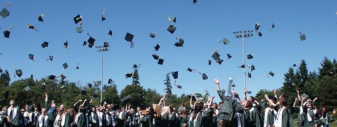 Celebración de entrega de títulos universitarios a alumnos becados por FUNIBER en Honduras