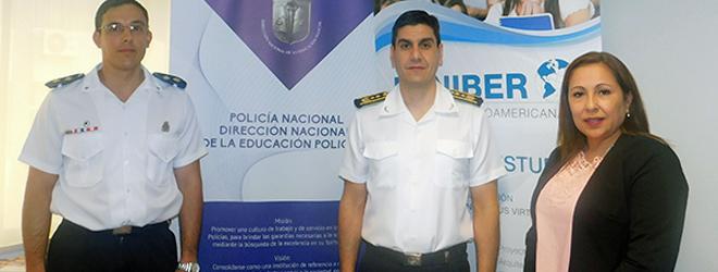 FUNIBER firma convenio de colaboración con la Dirección Nacional de Educación Policial