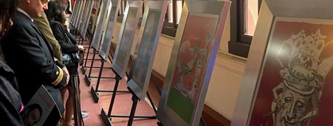 """Se inaugura la exposición """"Los Sueños Caprichosos De Pantagruel"""" de Salvador Dalí en La Corte De Apelaciones de La Serena"""