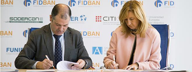 Acuerdo de colaboración entre FIDBAN y la Asociación de Trabajadores Autónomos de Cantabria (ATA-C)
