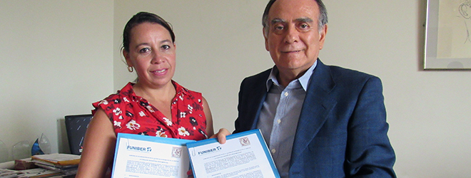 FUNIBER firma convenio con el Colegio de Economistas de la Libertad
