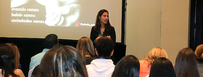 Exitosa conferencia en Honduras de la Dra. Mireia Peláez sobre el ejercicio físico durante el embarazo