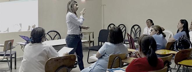 FUNIBER realiza sesión informativa en Colegio de Enfermería de Honduras