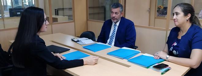 FUNIBER y el Ministerio de Industria y Comercio de Paraguay se reúnen para considerar vías de cooperación