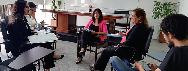 Reunión entre FUNIBER y la Municipalidad de Asunción para establecer acciones de 2019