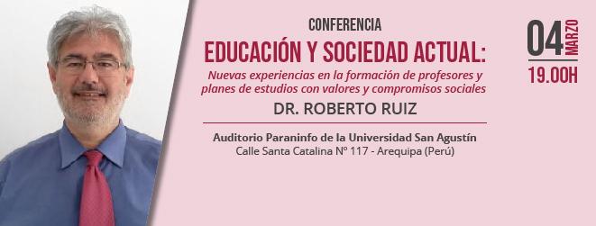 FUNIBER organiza en Perú una conferencia sobre nuevos modelos en la formación de Profesorado