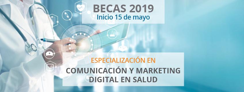 Nueva especialización en Comunicación y Marketing Digital en Salud patrocinada por FUNIBER