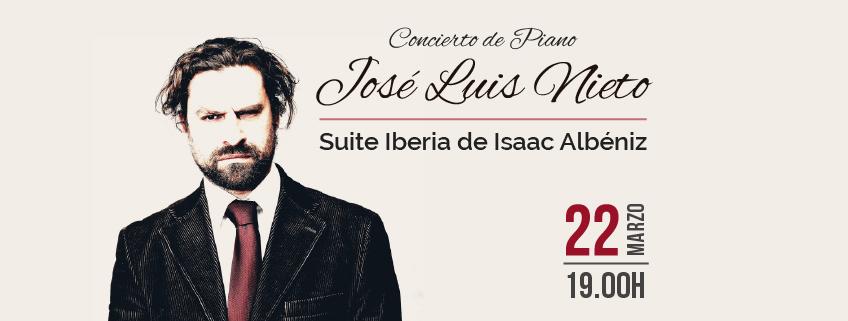 El pianista José Luis Nieto ofrecerá un concierto en la Municipalidad Metropolitana de Lima