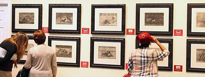 """Exitosa inauguración de la colección """"La Tauromaquia"""" de Goya en El Salvador"""