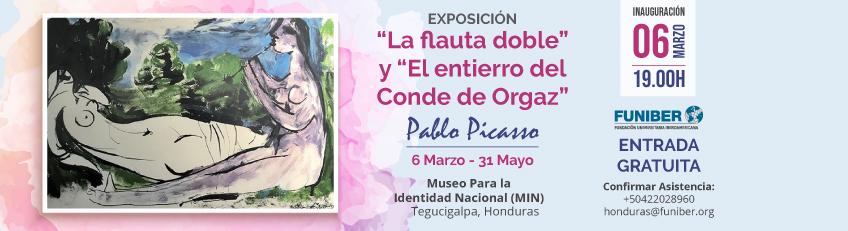 """""""El Entierro del Conde de Orgaz"""" y """"La Flauta Doble"""" de Picasso se exponen en Honduras"""