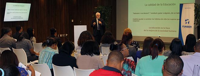 FUNIBER organiza conferencia en República Dominicana del Dr. Jesús Arzamendi