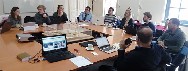 FUNIBER participa en un encuentro en Atenas para el seguimiento del proyecto ESSENCE