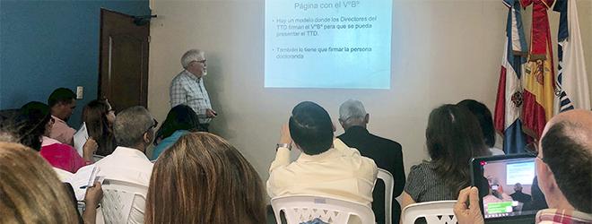 FUNIBER realiza en República Dominicana taller de Metodología de investigación científica
