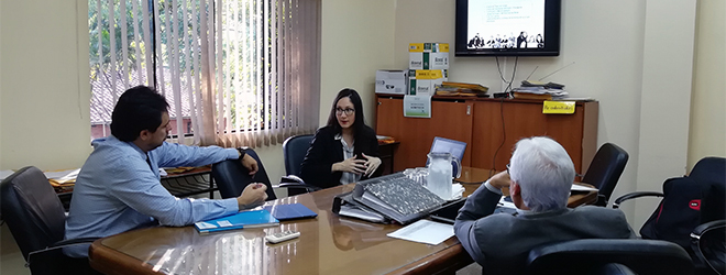 FUNIBER se reúne con el Instituto Nacional de Salud de Paraguay