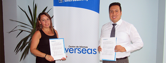 FUNIBER y el Centro de Idiomas Overseas firman acuerdo de colaboración