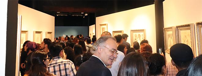 """Gran inauguración de la exposición """"La Flauta Doble"""" y """"El Entierro del Conde de Orgaz"""" de Picasso en Tegucigalpa"""