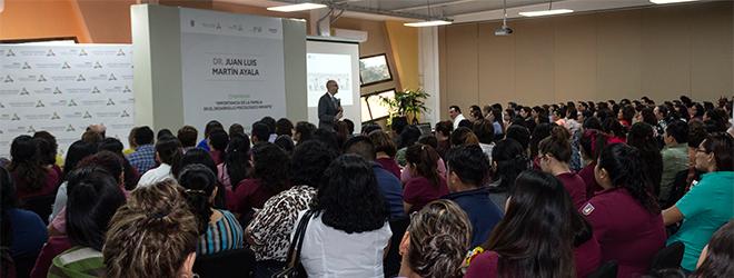 Interesante conferencia sobre parentalidad positiva a cargo del Dr. Juan Luis Martín